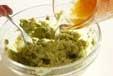 アボカドソースのサラダの作り方2