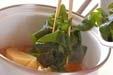 タケノコとワカメの煮物の作り方2
