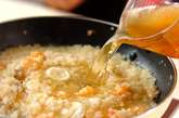 パプリカ詰め焼きリゾットの作り方3