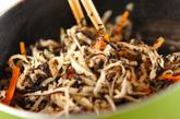 切干し大根のゴマ煮の作り方1