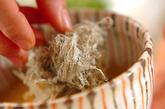 くずし豆腐ととろろ昆布のおみそ汁の作り方3