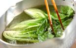 カニ玉丼の作り方1