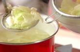 キャベツのチャンジャ和えの作り方1