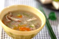 レンコンのフワフワスープ