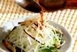大根とミツバのサラダの作り方1