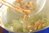 アサリ豆腐そぼろの作り方3