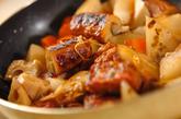 根菜と揚げ天の炒め煮の作り方4