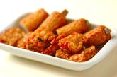 根菜と揚げ天の炒め煮の作り方2