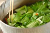 クラゲとチンゲンサイの中華和えの作り方1