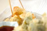 ささ身とブロッコリーの天ぷらの作り方3