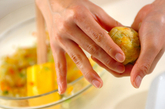 野菜の揚げ団子カレーの作り方3
