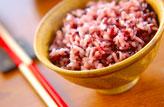 黒米入りご飯