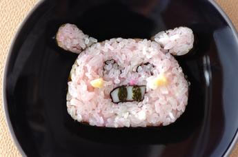 ぶたちゃんデコ巻き寿司