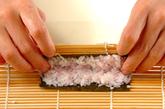 ぶたちゃんデコ巻き寿司の作り方7