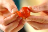 皮むきプチトマトのマリネの作り方1