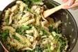 ホウレン草のフジッリの作り方4