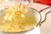 ピーチミルクプリンの作り方3