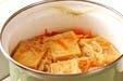 高野豆腐の揚げ煮の作り方4