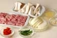 豆腐の黒ゴマパスタの下準備2