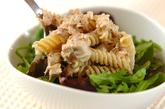 ツナとマカロニのバジルサラダの作り方2