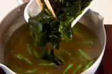 卵のふわふわスープの作り方1