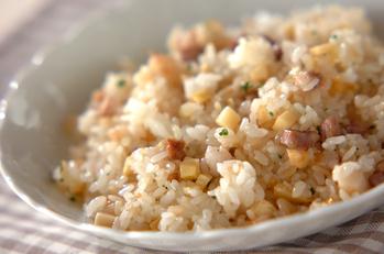 タケノコの炒めご飯