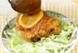 揚げ鶏のレモンソースの作り方3