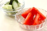 生野菜アンチョビサラダの作り方1