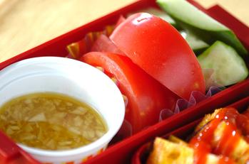 生野菜アンチョビサラダ