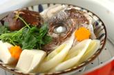 鯛の頭蒸しの作り方2