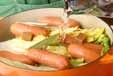 白菜とソーセージの煮物の作り方1