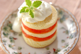 スイカのショートケーキの作り方1