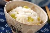 ふんわりソラ豆ご飯