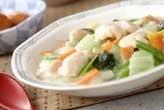 白菜と鶏肉のクリーム煮