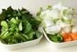 白菜と鶏肉のクリーム煮の下準備1