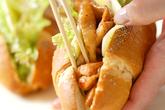 焼き鶏和風サンドの作り方5