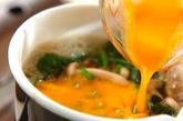高野豆腐の卵とじの作り方2