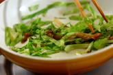 キャベツとザーサイ炒めの作り方3