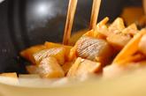 タケノコと鶏の土佐煮風の作り方2