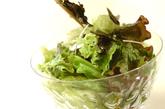 和風サラダの作り方2