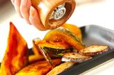 カボチャのガーリック炒めの作り方3