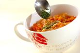 具だくさんのトマトスープの作り方2