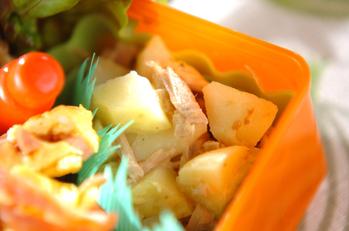 コロコロジャガイモとツナのサラダ