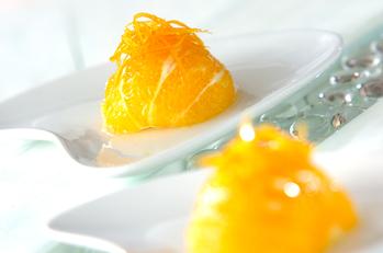オレンジのコンポート