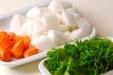 手羽中と大豆の煮物の下準備1