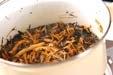 芽ヒジキの煮物の作り方3