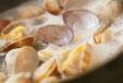 アサリとお魚のリゾットの作り方2