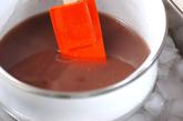 アンズ入り小豆カン の作り方2