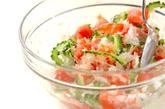 ゴーヤと湯むきトマトのサラダの作り方4