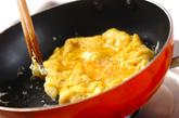 チーズオムレツサンドの作り方3